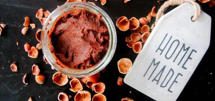 bezglutenowy wegański krem orzechowy czekoladowy domowa nutella