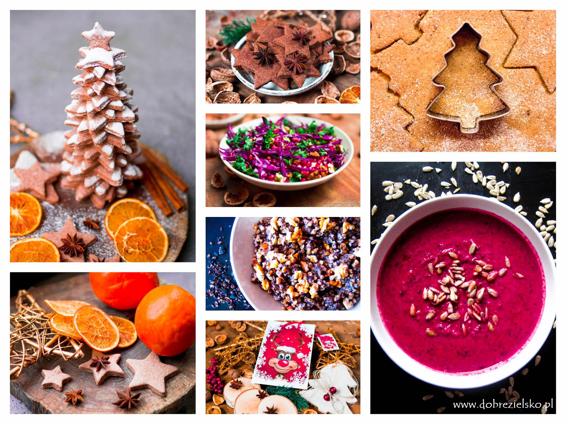 świąteczne wegańskie potrawy