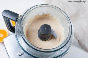 jak zrobić domowe tahini pasta sezamowa wegańska bezglutenowa robot kuchenny magimix