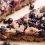 Wegańskie ciasto drożdżowe z porzeczkami i jagodami