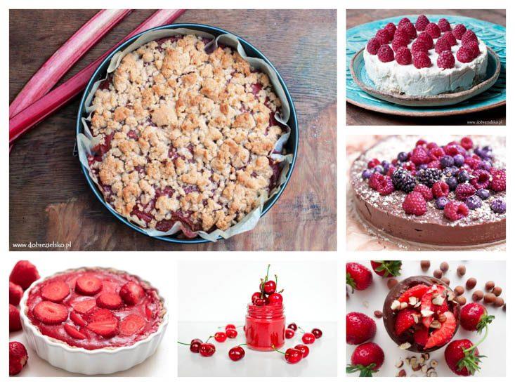 Wegańskie desery z owocami bez glutenu i bez dodatku cukru bez pieczenia na wiosnę i lato