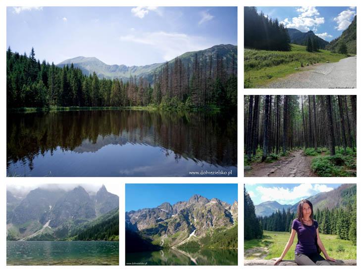 weganka na górskim szlaku weganka w podróży Tatry