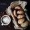 Pieczone wegańskie pączki z powidłami śliwkowymi