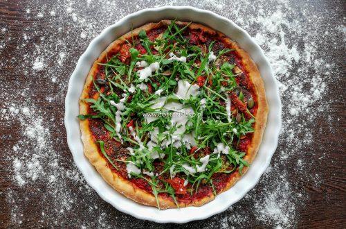 wegański sos serowy do pizzy lub makaronu