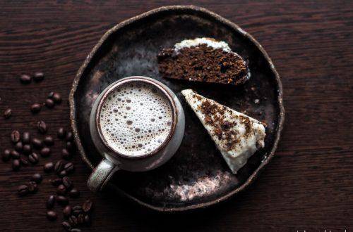 bezglutenowe wegańskie ciasto kawowe czekoladowe kawowe