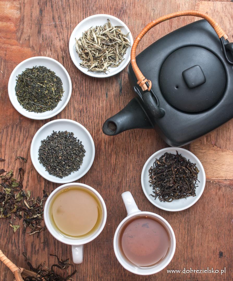 właściwości białej i zielonej herbaty