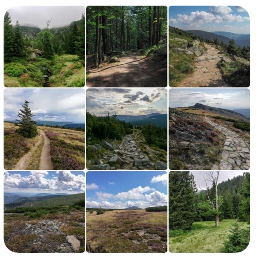 moje najpiękniejsze szlaki w Karkonoszach