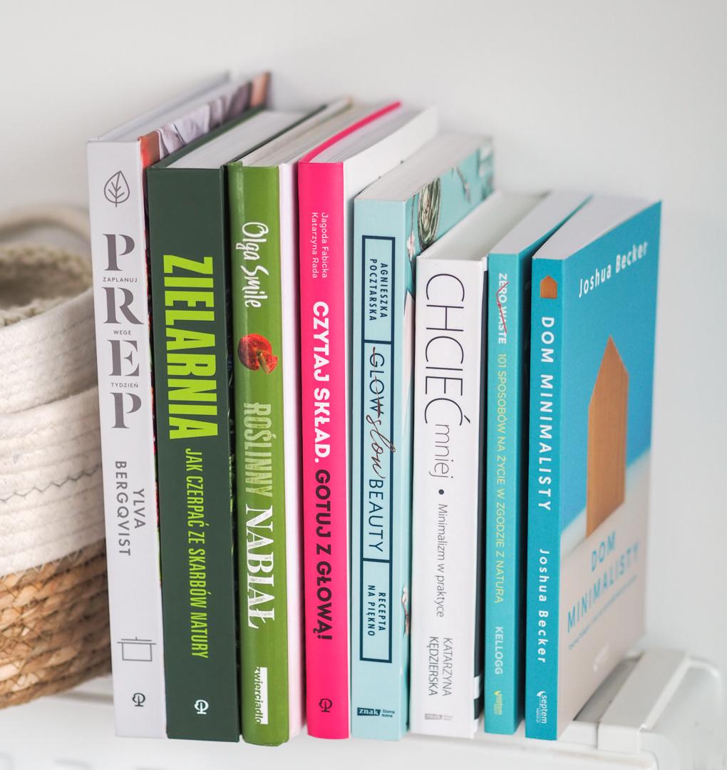 książki dla wegan, minimalistów i ekologów
