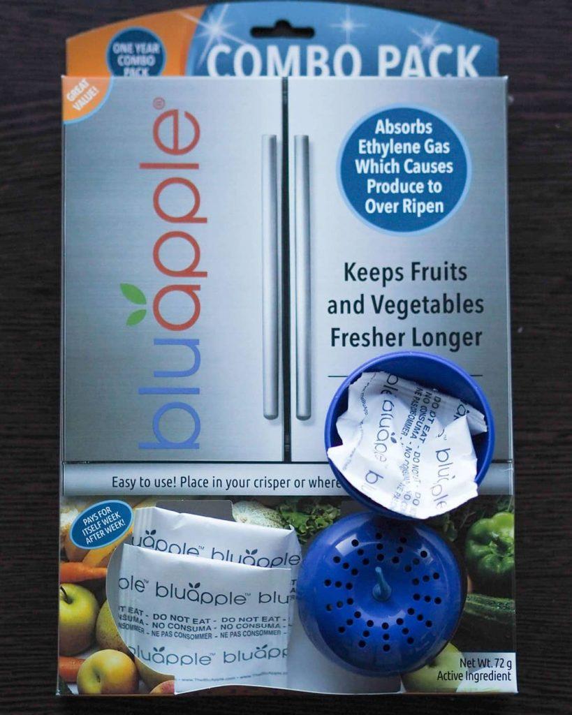 niebieskie jabłuszko zeolit jak przedłużyć świeżość warzyw i owoców