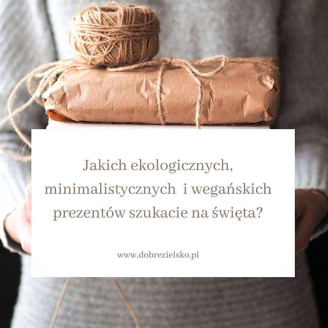 pomysły na prezenty dla wegan, minimalistów i miłośników natury