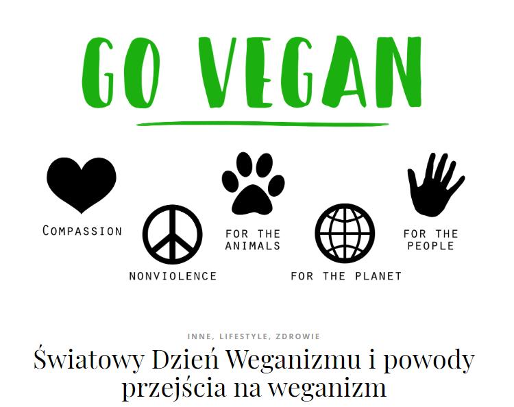 weganizm dieta roślinna wegańska dlaczego